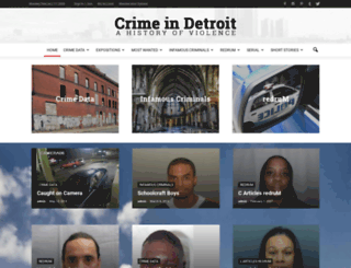 crimeindetroit.com screenshot