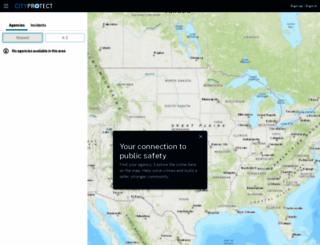 crimereports.com screenshot