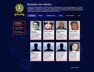crimesnonresolus.com screenshot