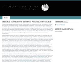 criminal-convictions-insurance.webs.com screenshot