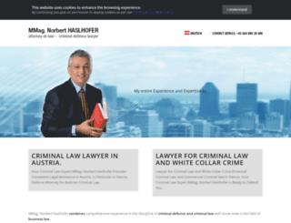 criminal-law.at screenshot