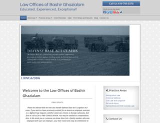 criminalandimmigrationlawyer.avvosites.com screenshot