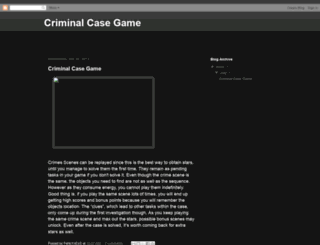 criminalcase-game.blogspot.pt screenshot