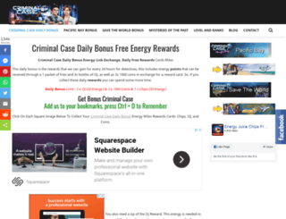 criminalcasedaily.com screenshot