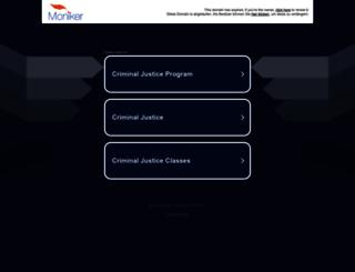 criminaljusticedegree.com screenshot