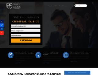 criminaljusticeprofiles.org screenshot
