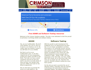 crimsonsolutions.co.uk screenshot