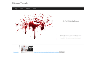 crimsonthreads.weebly.com screenshot