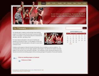crimsonwrestling.com screenshot