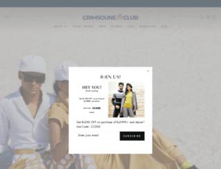 crimsouneclub.com screenshot