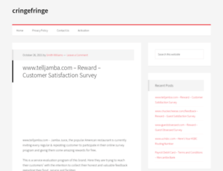 cringefringe.com screenshot
