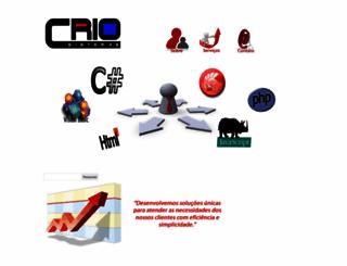 criosistemas.com.br screenshot