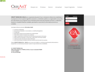 crisakt.ro screenshot