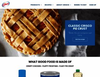 crisco.com screenshot