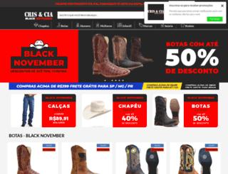 crisecia.com.br screenshot
