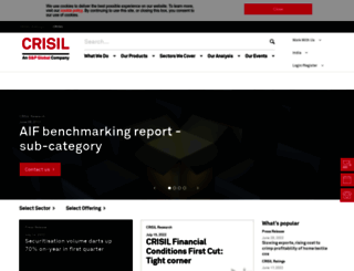 crisil.com screenshot