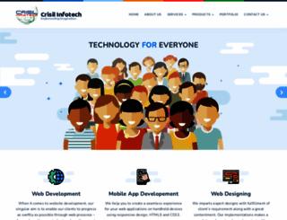 crisilinfotech.com screenshot