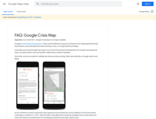 crisislanding.appspot.com screenshot