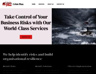 crisismaps.com screenshot