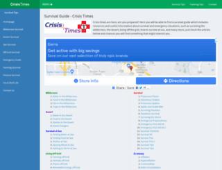 crisistimes.com screenshot