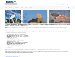crisp.nus.edu.sg screenshot