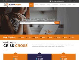 crisscrosssolutions.in screenshot