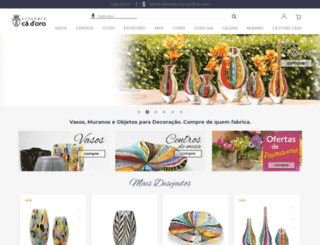 cristaiscadoro.com screenshot