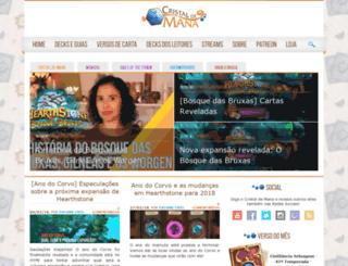 cristaldemana.com.br screenshot