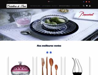cristallerie-de-paris.fr screenshot