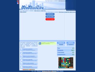 cristhiamland.myminicity.es screenshot