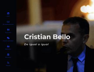 cristianbello.com screenshot