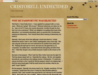cristobell.blogspot.co.il screenshot