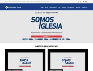 cristoparatodos.org screenshot
