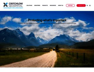 critchlow.co.nz screenshot