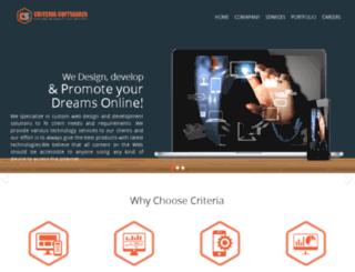 criteriasoftwares.net screenshot