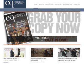 criterion-quarterly.com screenshot