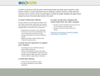 criticalnumber.ecovate.com screenshot
