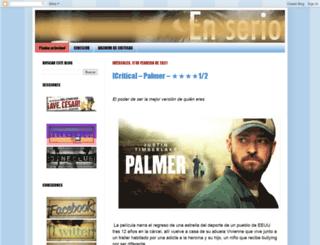 criticoenserio.blogspot.com screenshot