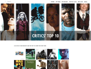 criticstop10.com screenshot