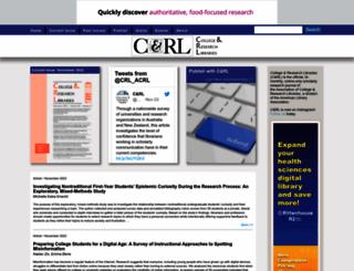 crl.acrl.org screenshot