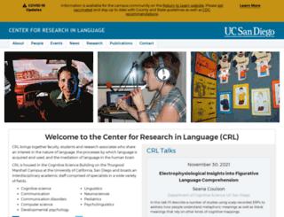 crl.ucsd.edu screenshot
