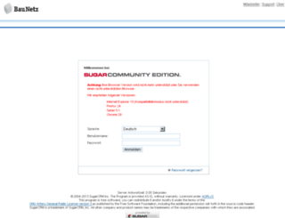 crm.baunetz.de screenshot