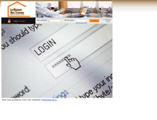 crm.lamaisondestravaux.com screenshot