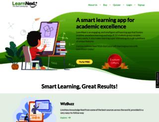 crm.learnnext.com screenshot