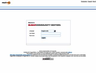 crm.muchosol.com screenshot
