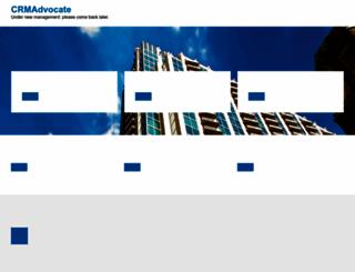 crmadvocate.com screenshot