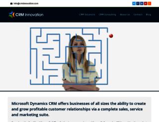 crminnovation.com screenshot