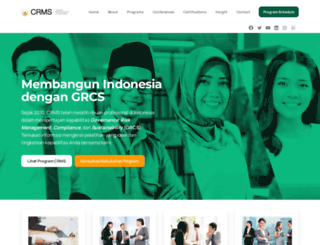 crmsindonesia.org screenshot