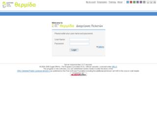 crmthermida.mymanager.gr screenshot
