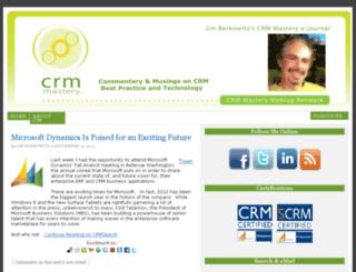 crmweblog.crmmastery.com screenshot